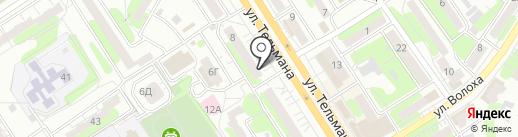Карапуз на карте Энгельса