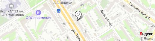 Магазин профессиональной косметики на карте Энгельса