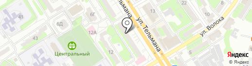 Никастар на карте Энгельса