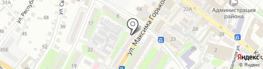 Централизованная библиотечная система Энгельсского муниципального района на карте Энгельса