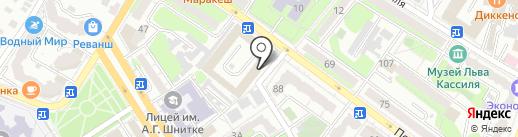 Магазин хозтоваров и бытовой химии на карте Энгельса