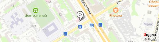Крестьянское хозяйство Макарова на карте Энгельса
