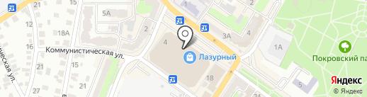 Банкомат, Банк Уралсиб, ПАО на карте Энгельса