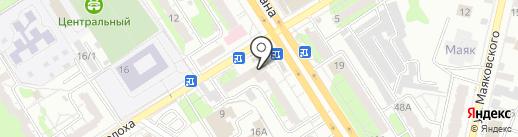 App Engels на карте Энгельса
