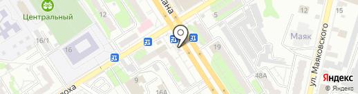 DONER-MARKET на карте Энгельса