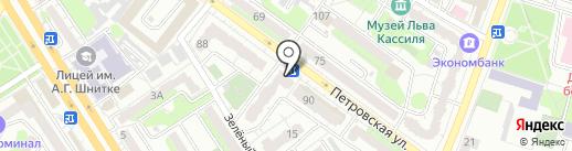 Совкомбанк, ПАО на карте Энгельса