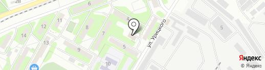 Техноавтомат на карте Энгельса