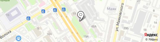 Адвокатские кабинеты Коневой И.В. и Фидас М.Г. на карте Энгельса