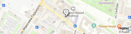 Адвокатский кабинет Бобровой Е.С. на карте Энгельса