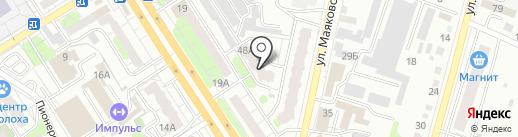Маяковского 48-48а, ТСН на карте Энгельса