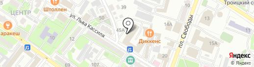 Спортивная школа Вячеслава Максюты на карте Энгельса