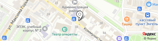 Нотариус Стрижак Н.В. на карте Энгельса