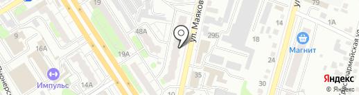 ВМК, ЗАО на карте Энгельса