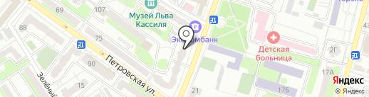 Адвокатский кабинет Пантелеевой М.Н. на карте Энгельса