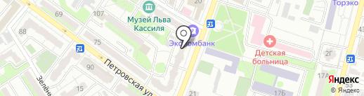 Адвокатский кабинет Шаманаевой Е.М. на карте Энгельса