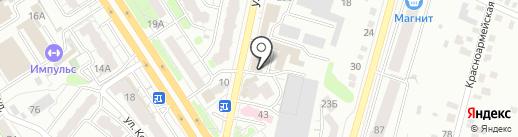 Райхон на карте Энгельса