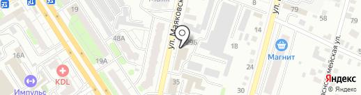Emex на карте Энгельса