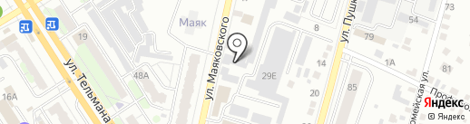 Фрезер на карте Энгельса