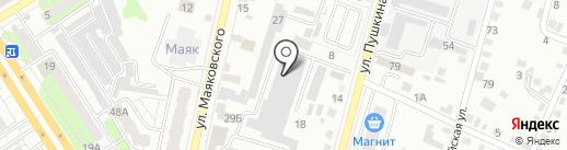 Поволжский кровельный центр на карте Энгельса