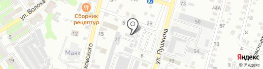 Ай-Ки-Дом на карте Энгельса