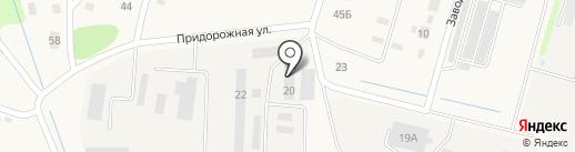 Агрия на карте Новопушкинского