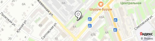 АВТОМИКС на карте Энгельса