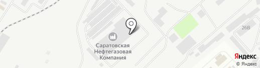 СреднеВолжскГаз на карте Энгельса