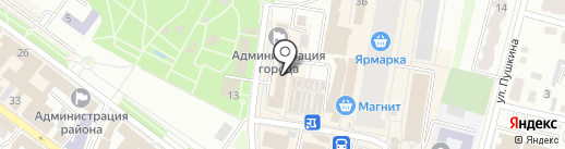Банкомат, АКБ Авангард на карте Энгельса