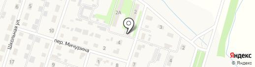 Продуктовый магазин на карте Новопушкинского