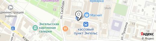 Православное Заволжье на карте Энгельса