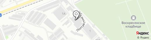 Лоцман на карте Энгельса