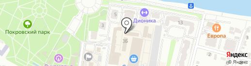 Магазин штор и постельных принадлежностей на карте Энгельса