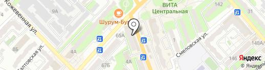 USB-market на карте Энгельса