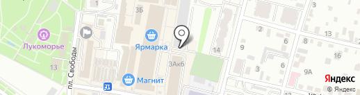 Платный общественный туалет на карте Энгельса