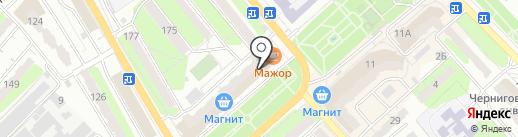 Барвинок на карте Энгельса