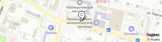 Покровсктрансгаз на карте Энгельса