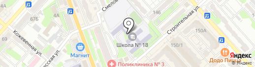 Библиотека №12 на карте Энгельса