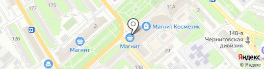 Московская ярмарка на карте Энгельса