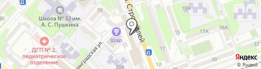 Межрайонная инспекция Федеральной налоговой службы России №7 по Саратовской области на карте Энгельса