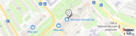 Арбат на карте Энгельса