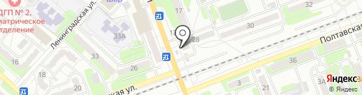 Киоск по продаже пончиков на карте Энгельса