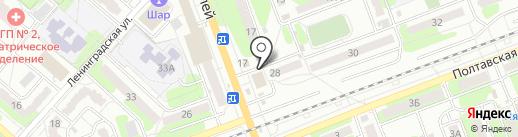 Интэк-Маркет на карте Энгельса