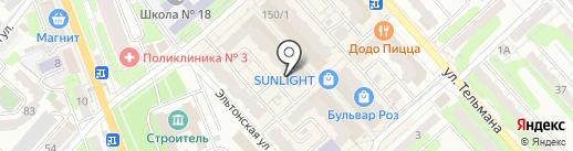 ЛОГОЛЭНД на карте Энгельса
