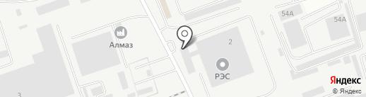 Производственная компания на карте Энгельса