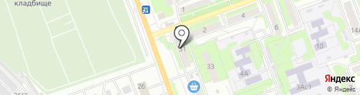 Мастерская по ремонту обуви на проспекте Строителей на карте Энгельса