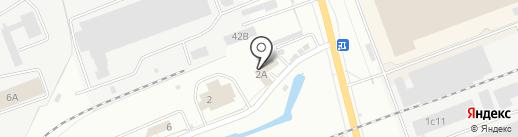 База 555 на карте Энгельса