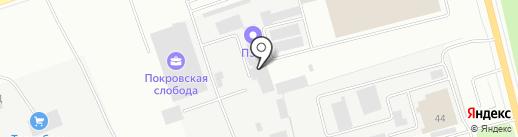 ПЭК на карте Энгельса