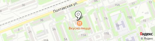 Магазин кваса на карте Энгельса