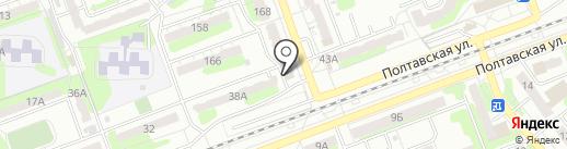 Гульчачак на карте Энгельса