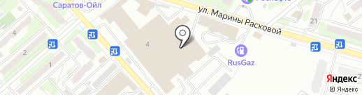 Центурион-Саратов на карте Энгельса